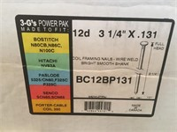 3-G's Power Pack Framing Nails - New in the Box