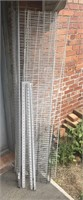 Lot of Wire Shelving and Wall Mounts