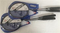 Two Badminton Racket Sets - New in the Package