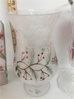 Christmas Decor Glassware Set