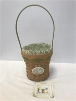 Longaberger 2008 Daffodil Basket