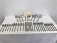 37 pc. Lenox Stainless Steel Flatware Set