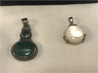 4 pc. Sterling Necklace and Pendant Set