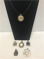 7 pc Necklace and Pendant Set