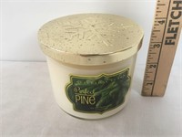 Perfect Pine Scent Three Wick Candle