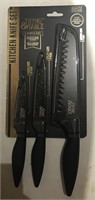 Kitchen Knife Set 3 Piece Set New in Package