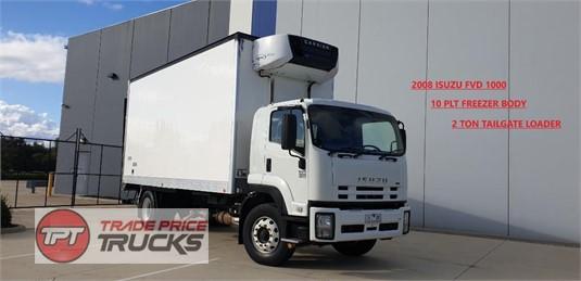 2008 Isuzu FVD 1000 Trade Price Trucks  - Trucks for Sale