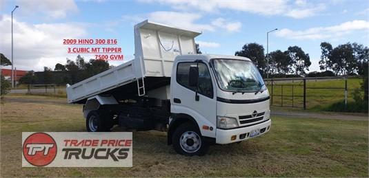 2009 Hino 300 816 Trade Price Trucks  - Trucks for Sale