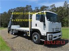 2011 Isuzu FVZ 1400 Long Crane Truck