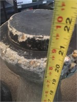 Two Heavy Concrete Bases