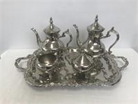 5 pc. Silverplate Tea Set