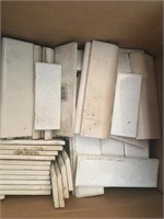Miscellaneous Tile and Mortar Lot
