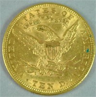 1897 $10 EAGLE US GOLD COIN