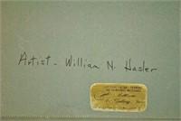 WILLIAM N. HASLER (NY / NJ, 1865-1933)
