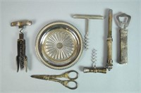 (7) PIECE SILVER & SILVERPLATE GROUP