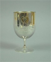 JULIUS LA ROSA STERLING & GOLD PRESENTATION CUP