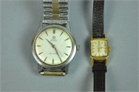 (2) OMEGA WATCHES