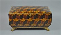 LARGE MAITLAND SMITH INLAID TABLE BOX