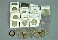 MIXED GROUP OF 20THC. US SILVER COINAGE