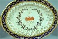 (3) CHAMBERLAIN'S WORCESTER ARMORIAL TABLEWARES