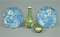 (4) PIECE ANTIQUE CHINESE GROUP