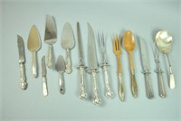 (14) PIECE STERLING HANDLED SERVICEWARE GROUP