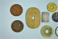 GROUP OF US & INTERNATIONAL COINS - SOME SILVER