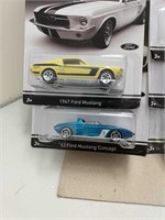 2013 Hot Wheels Mustangs 50 Years