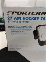 27 Inch Sportscraft Air Hockey Table