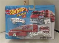 2019  Hot Wheels Stuntin' Semi