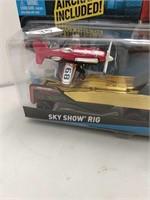 2013 Hot Wheels Sky Show Rig