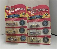 1992 Hot Wheels 25th Anniversary Cars