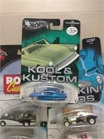 Mixed Lot Of Hot Wheels Collector Cars