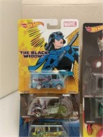 Mixed Lot of Super Hero Hot Wheels