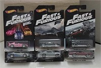 Mixed Lot of Fast & Furious Hot Wheels