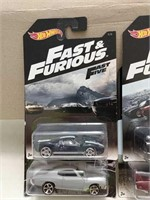 Mixed Lot of Fast & Furious Hot Wheels