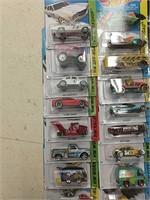 Lot of 72 Hot Wheels Mixed Years