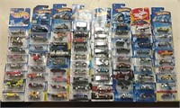 Lot of 72 Hot Wheels Mixed Years