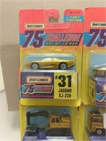 1997 Matchbox 75 Challenge Cars