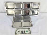 Stainless Divided Trays