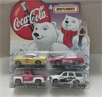 1999 Matchbox Coca-Cola Collector Cars