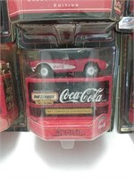 1998 Matchbox Coca-Cola Collector Cars
