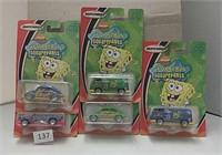 2003 Matchbox Sponge Bob Cars