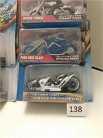 Mixed Lot Hot Wheels Motorcycles