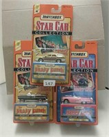 1997 Matchbox Star Car Collector Cars