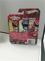Pair of 2012 Hot Wheels Power Rangers Cars
