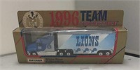 1996 Matchbox Detroit Lions Semi NFL