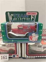 3 Matchbox Sports Collector Cars