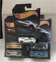 2018 Hot Wheels Cars Set of 5