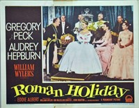 SET OF 8 MOVIE LOBBY CARDS FOR ROMAN HOLIDAY